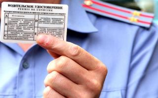 Инструкция по восстановлению водительских прав