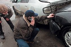 Звонок страховщику после ДТП